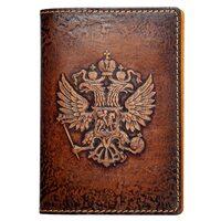 "Обложка на паспорт ""Герб России"""